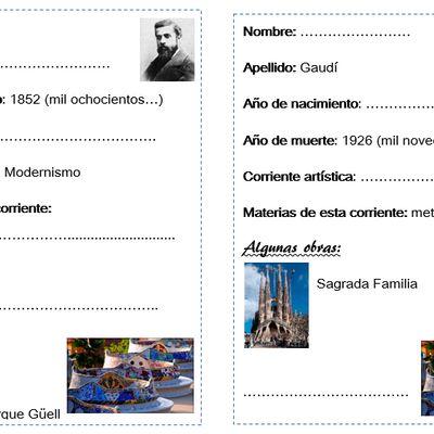 Gaudí y sus obras