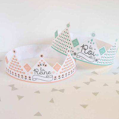 DIY une couronne pour la fête des rois