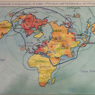 Cartes: Pôles et flux de la mondialisation, le best of