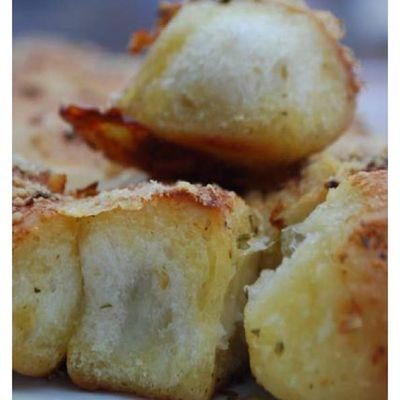 Bread ball's mozzarella apéritives
