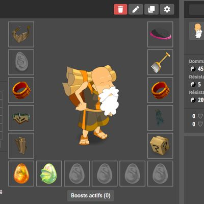 Stuff Enus / Crâ | Dofus Tutu +20 | Week-end Double EXP | Projets