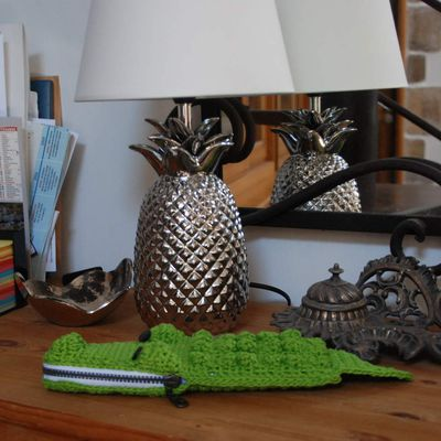 Trousse crocodile
