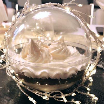 Boule de Noël à la crème de Marrons