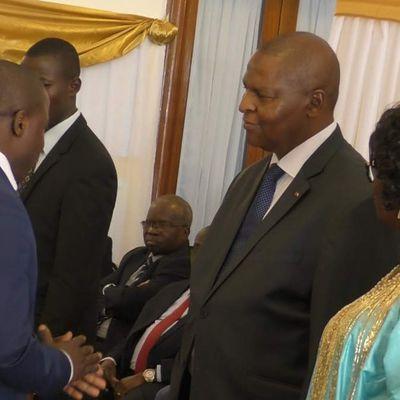 BANGUI: GUINON AYMARD   lance la plateforme BANGUI et MOI