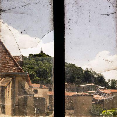 Nonette (63) vue de la fenêtre ...