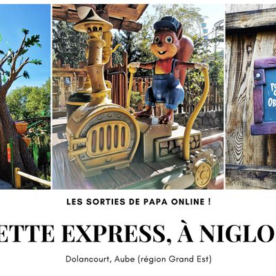 [Sortir] Parc Nigloland (Aube) : à la découverte de la nouvelle attraction, ''Noisette Express''