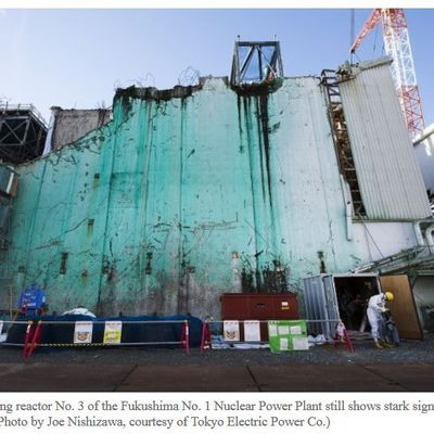 Joe Nishizawa publishes photos taken inside Fukushima plant