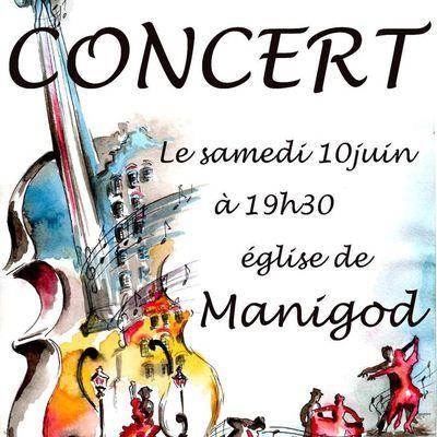 Prochains concerts le samedi 10 juin et le dimanche 11 juin