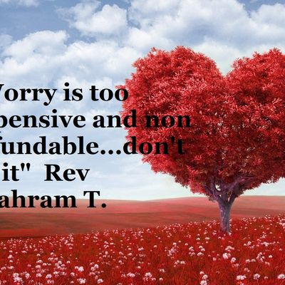"""""""Worry is too expensive and non refundable...don't do it""""  Rev Shahram T."""