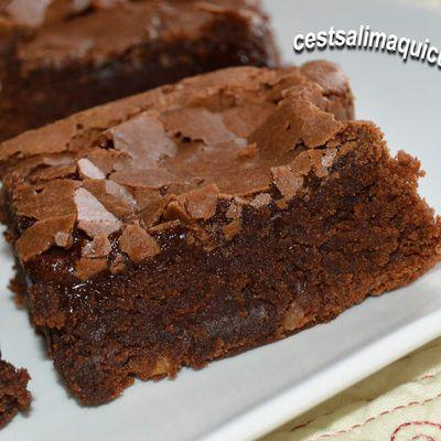 Brownie au noix d'Anissa