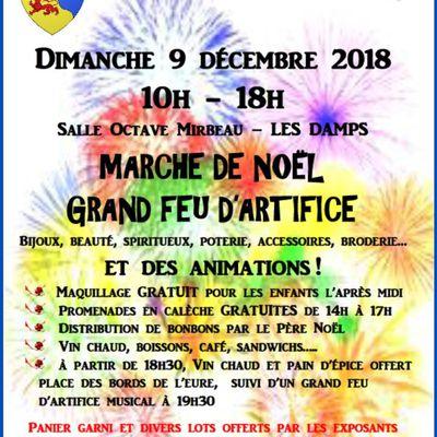"""Marché de Noël """"Au Fil de l'Eure"""""""