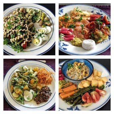 Les assiettes santé de Francine