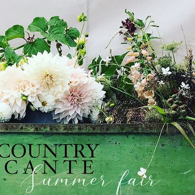 Maison Bleu Lin at the Country Brocante summer fair in Cowdray on june 29th and 30th