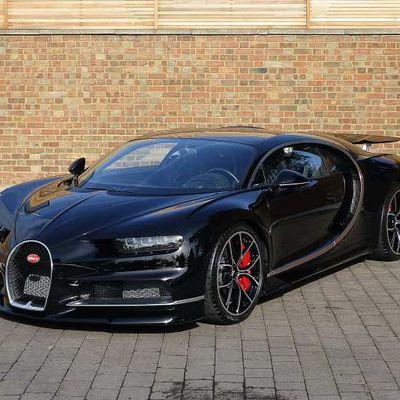 La première Bugatti Chiron d'occasion à vendre