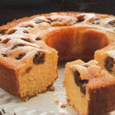 Cake moelleux aux raisin frais