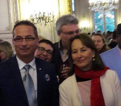 Alain Scudellaro reçu au Ministère de l'environnement