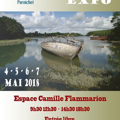 PORNICHET : EXPOSITION PHOTO de notre CLUB PHOTO du 4 au 7 mai