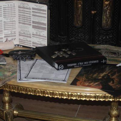 Unboxing: Vampire L'Age des ténèbres édition 20ème anniversaire