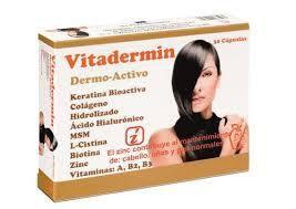 Cuida tu pelo y tu piel con una sóla cápsula... Vitadermin