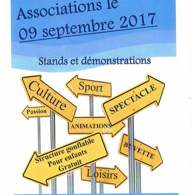 LES BIPEDES SERONT PRESENTS AU FORUM DES ASSOCIATIONS