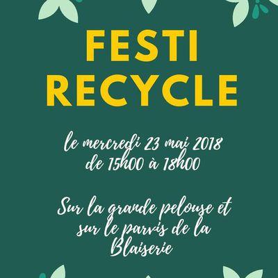 Le 23 mai : Festi Recycle