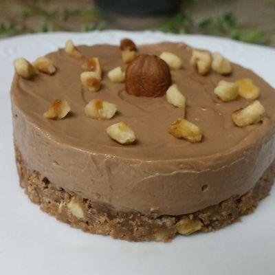 Cheesecake au Nocciolata (sans cuisson)
