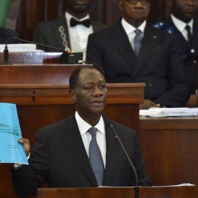 Nouvelle Consitution: Le discours mémorable de Ouattara face aux députés.