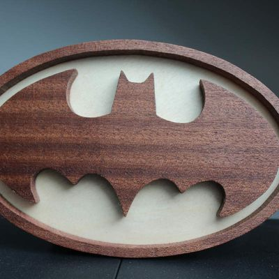 Plaque porte enfant BATMAN