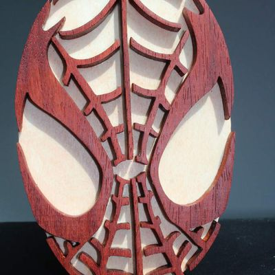 Plaque porte enfant SPIDERMAN