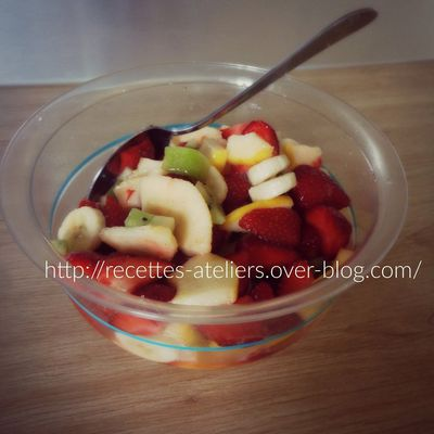 Salade de Fruits A La Limonade