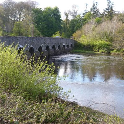 Palmerstown bridge (co Mayo Irlande)
