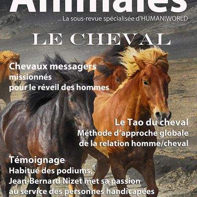 "Nos magazines ""HUMANIWORLD"" et ""THERAPIE & SPIRITUALITE ANIMALES"""
