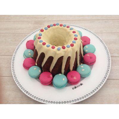 Bundt cake chocolat noisettes