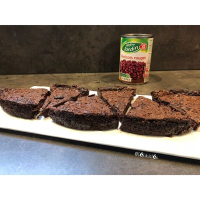 Brownies chocolat aux haricots rouges