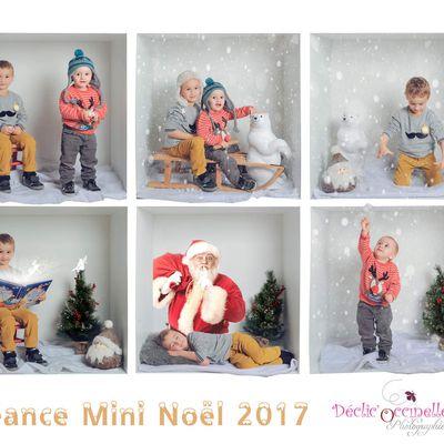 Minis séances photos Noël studio 2017 Castres Albi Revel