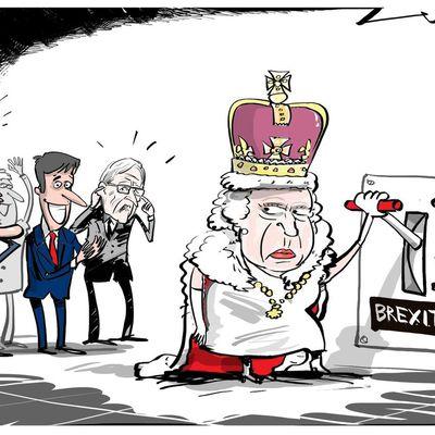 Le Brexit reçoit la bénédiction officielle de Sa Majesté la reine