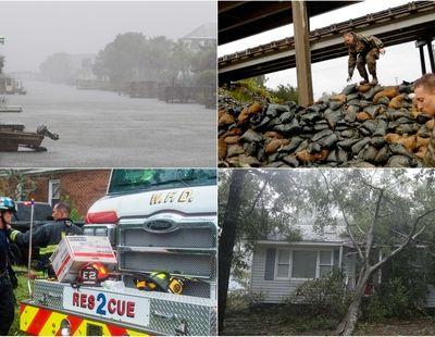 Ouragan Florence : plusieurs morts et des dizaines d'Américains piégés