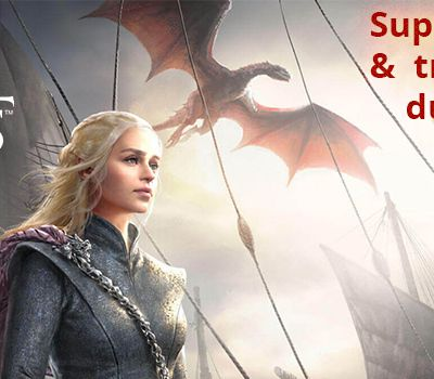 Superbe trailer et artworks du jeu mobile Game of Thrones - Winter is Coming