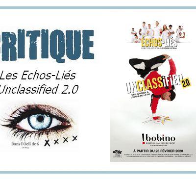 👁️ Critique Danse - Les Echos-Liés dans Unclassified 2.0