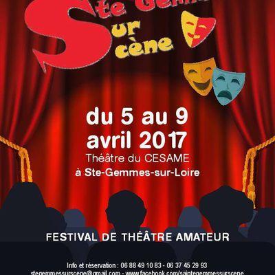 Un Grand cri d'amour le Dimanche 9 avril au Festival Ste-Gemmes sur Scène