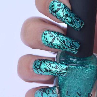 Nail Art végétal