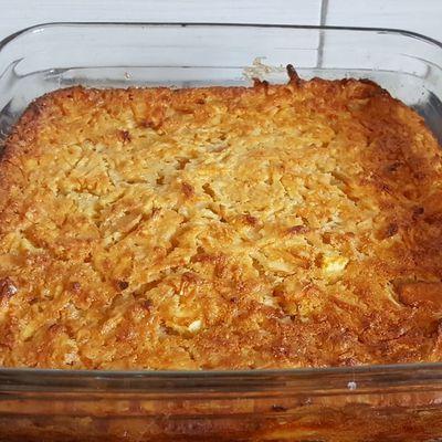 Rond ou carré, le gâteau invisible aux pommes est toujours aussi bon !