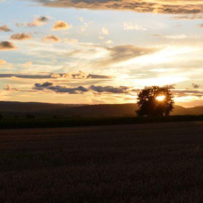 Des couchers de soleil en juin