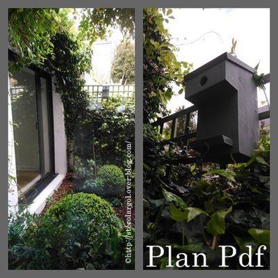 Fabriquer un Nichoir pour Mésanges - Plan Pdf