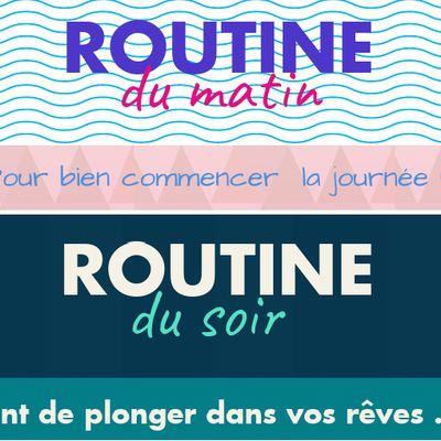 """Affiches """"routines"""""""
