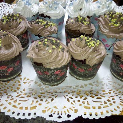 Cupcake recette facile   كاب كيك سهل