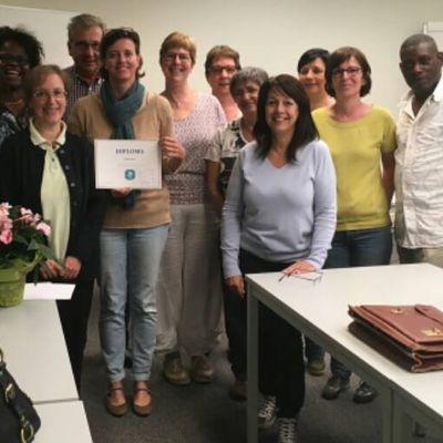 Clôture à Halle d'une formation du VDAB en matière d'emploi pour personnes d'un certain âge