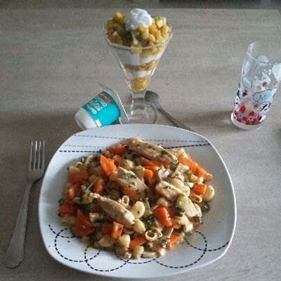 One pote blanquette poulet