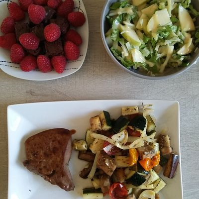 Salade fenouil/pomme/sucrine