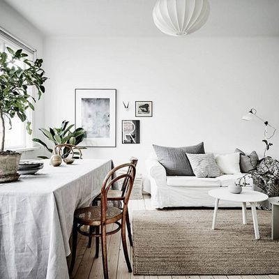 Paisible appartement scandinave